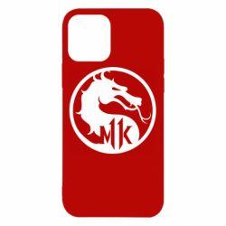 Чехол для iPhone 12/12 Pro Logo Mortal Kombat 11