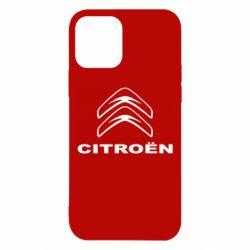 Чохол для iPhone 12 Логотип Citroen