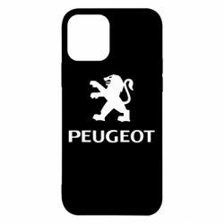 Чехол для iPhone 12/12 Pro Логотип Peugeot