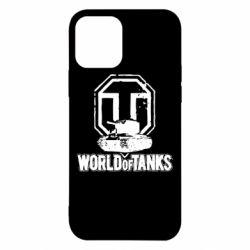 Чехол для iPhone 12/12 Pro Логотип World Of Tanks