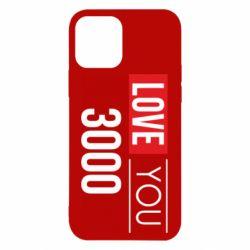Чехол для iPhone 12/12 Pro Love 300