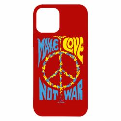 Чехол для iPhone 12/12 Pro Make love, not war