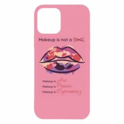 Чехол для iPhone 12/12 Pro Make Up Is Not A Mask Lips