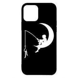 Чехол для iPhone 12/12 Pro Мальчик рыбачит