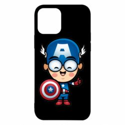 Чехол для iPhone 12/12 Pro Маленький Капитан Америка