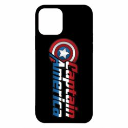 Чохол для iPhone 12/12 Pro Marvel Captain America