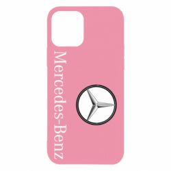 Чехол для iPhone 12/12 Pro Mercedes-Benz Logo