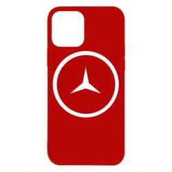 Чехол для iPhone 12/12 Pro Mercedes new logo