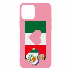 Чехол для iPhone 12/12 Pro Mexican flag and president