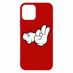 "Чехол для iPhone 12/12 Pro Mickey Mouse Hands ""Chop-chop"""