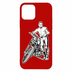 Чехол для iPhone 12/12 Pro Mickey Rourke and the motorcycle
