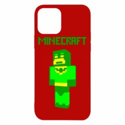 Чехол для iPhone 12/12 Pro Minecraft Batman