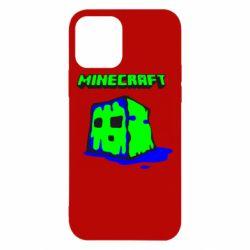 Чохол для iPhone 12/12 Pro Minecraft Head