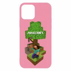 Чохол для iPhone 12/12 Pro Minecraft Steve