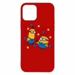Чохол для iPhone 12/12 Pro Minions and stars