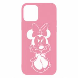 Чехол для iPhone 12/12 Pro Minnie Mouse Face