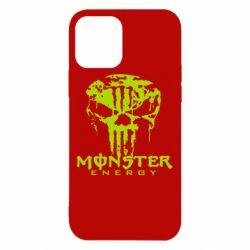 Чохол для iPhone 12/12 Pro Monster Energy Череп