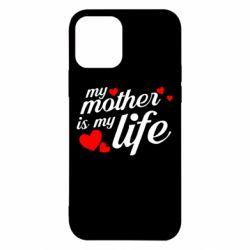 Чохол для iPhone 12/12 Pro Моя мати -  моє життя