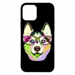 Чохол для iPhone 12/12 Pro Multi-colored dog with glasses