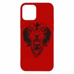 Чехол для iPhone 12/12 Pro Muzzle of a lion