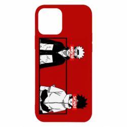 Чехол для iPhone 12/12 Pro Naruto and Sasuke