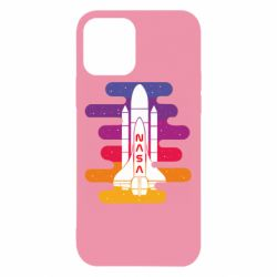 Чохол для iPhone 12/12 Pro NASA rocket in space