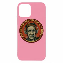 Чохол для iPhone 12/12 Pro Never too old to Rock n roll