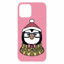 Чехол для iPhone 12/12 Pro New Year's Penguin