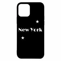 Чехол для iPhone 12/12 Pro New York and stars