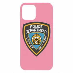 Чехол для iPhone 12/12 Pro New York Police Department