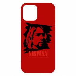 Чехол для iPhone 12 Nirvana Kurt Cobian