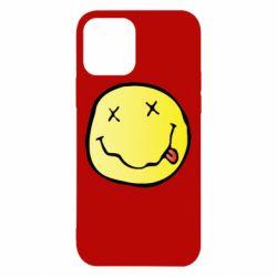 Чохол для iPhone 12/12 Pro Nirvana Logo 3D