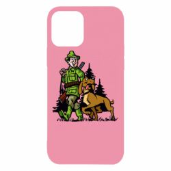 Чохол для iPhone 12/12 Pro Мисливець з собакою