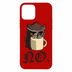 Чехол для iPhone 12/12 Pro Owl and coffee