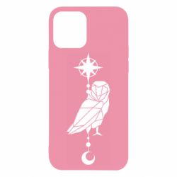 Чохол для iPhone 12/12 Pro Owl star and month