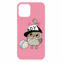 Чехол для iPhone 12/12 Pro Owl with a ball