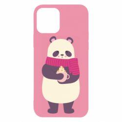 Чехол для iPhone 12/12 Pro Panda and Cappuccino