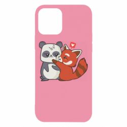 Чохол для iPhone 12 Panda and fire panda