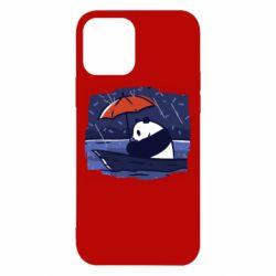 Чехол для iPhone 12/12 Pro Panda and rain