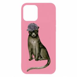 Чохол для iPhone 12/12 Pro Panther in a hat
