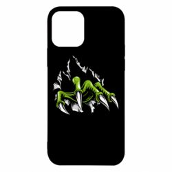 Чохол для iPhone 12/12 Pro Paw with claws tearing fabric
