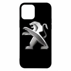 Чохол для iPhone 12/12 Pro Peugeot Logo