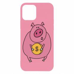 Чохол для iPhone 12/12 Pro Pig and $
