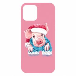 Чохол для iPhone 12/12 Pro Pig in a hat