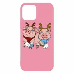 Чохол для iPhone 12/12 Pro Pigs