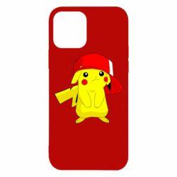 Чехол для iPhone 12/12 Pro Pikachu in a cap
