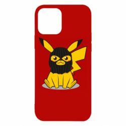 Чехол для iPhone 12/12 Pro Pikachu in balaclava