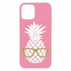 Чехол для iPhone 12/12 Pro Pineapple with glasses