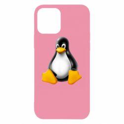 Чохол для iPhone 12/12 Pro Пингвин Linux