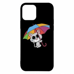 Чохол для iPhone 12/12 Pro Plush cat